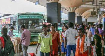 கொரோனா அச்சம் எதிரொலி: சென்னையை காலி செய்யும் பொதுமக்கள்