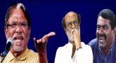 இதுதாண்டா ஆன்மீக அரசியல்; சீமான், பாரதிராஜாவை புகழ வைத்த ரஜினி