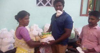 250 குடும்பங்களுக்கு உதவி செய்த வில்லன் நடிகர்