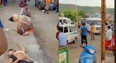 சாலையில் கொத்து கொத்தாக மயங்கி விழுந்த பொதுமக்கள்: