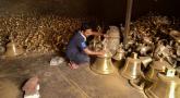 ராமர் கோவிலுக்காக தயாராகும் 2.1 டன் பிரமாண்ட மணி!